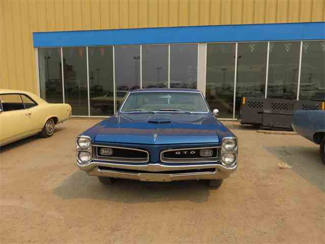1966 Pontiac GTO HT Barrier Blue | 801365