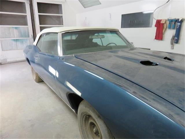 1969 Pontiac GTO Convertible Liberty Blue | 801371