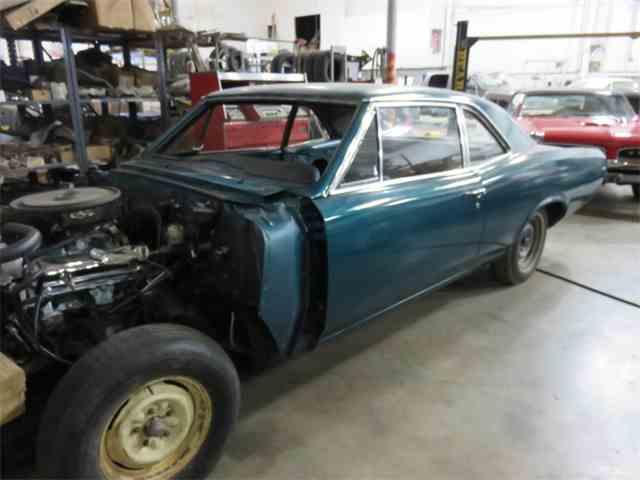 1966 Pontiac GTO Post Marine Turquoise | 801379