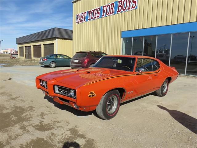 1969 Pontiac HT Judge Auto Carousel Red | 801395