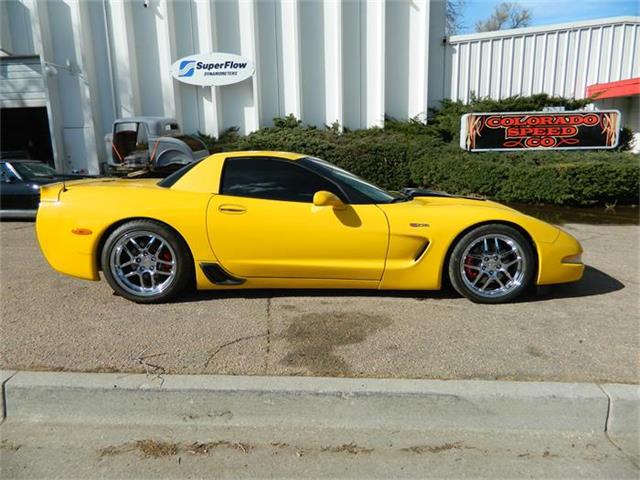 2002 Chevrolet Corvette Z06 | 801426