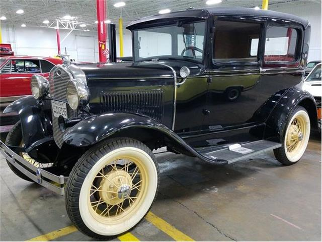 1931 Ford Model A Deluxe 2 Door Sedan | 801486