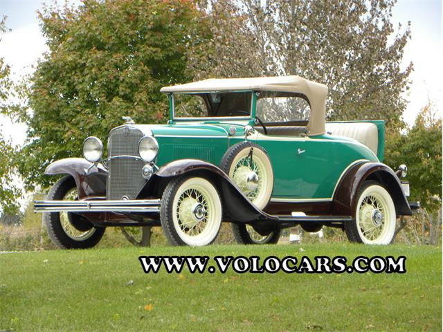1931 Chevrolet Independence Deluxe Roadster Series AE | 801562