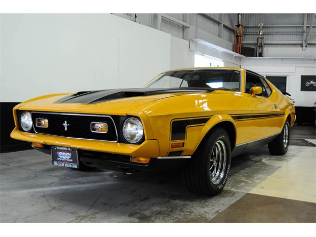 1971 Ford Mustang   800191