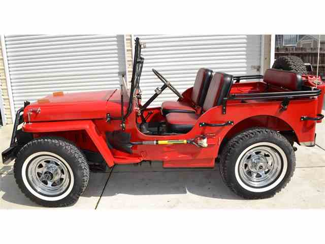 1942 Ford Military Jeep   802304