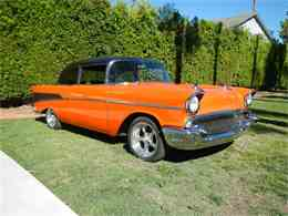 Picture of Classic 1957 Chevrolet Bel Air located in Woodlalnd Hills California - $35,900.00 Offered by California Cadillac And Collectibles - H7RQ