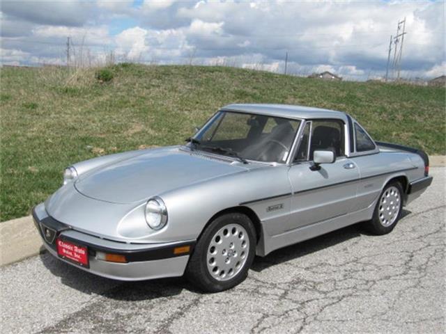 1986 Alfa Romeo Spider Quadrifoglio | 803233