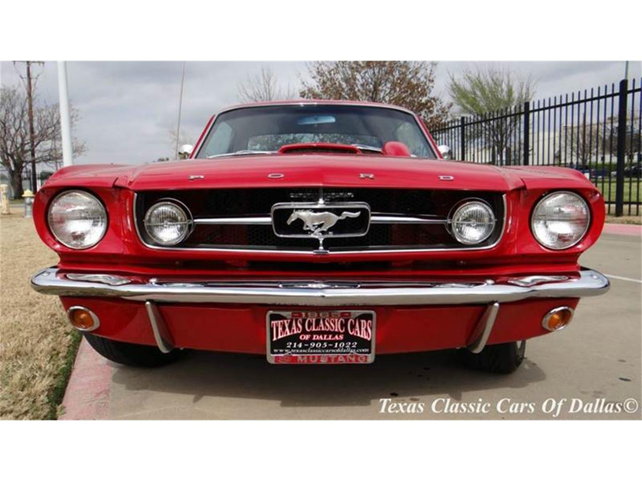 1965 ford mustang for sale cc 803275. Black Bedroom Furniture Sets. Home Design Ideas