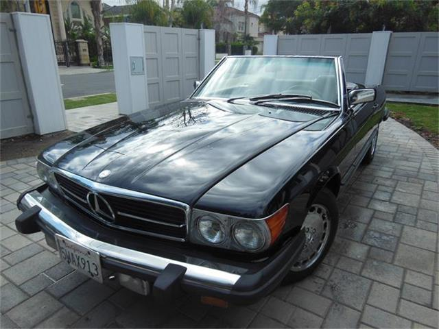1986 Mercedes-Benz 560SL | 800374