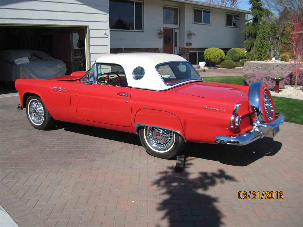 1956 ford thunderbird for sale cc 800384. Black Bedroom Furniture Sets. Home Design Ideas
