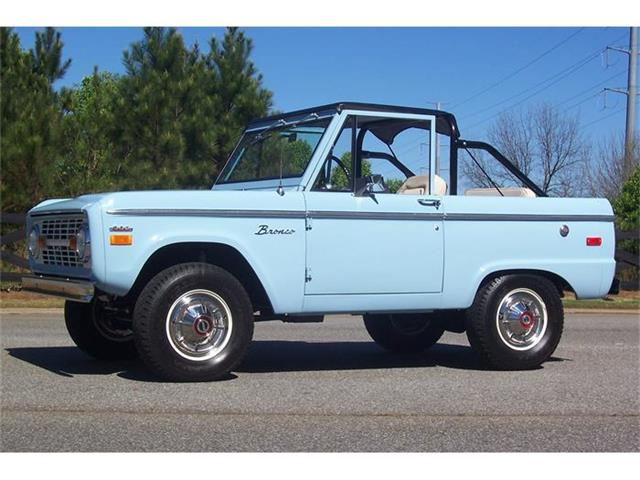 1971 Ford Bronco | 804880