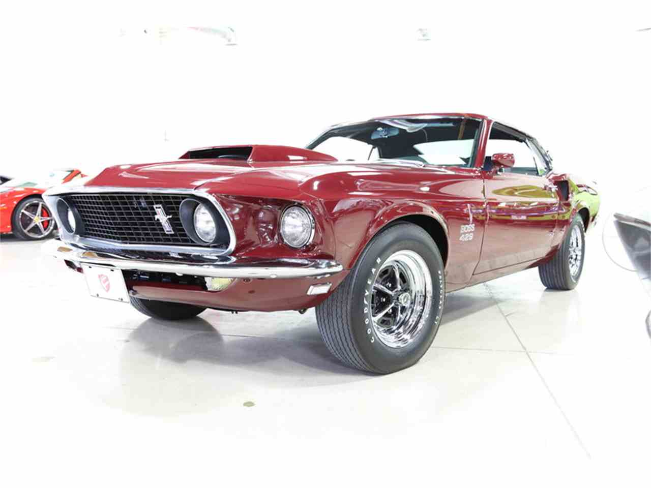 1969 ford mustang boss for sale cc 805617. Black Bedroom Furniture Sets. Home Design Ideas