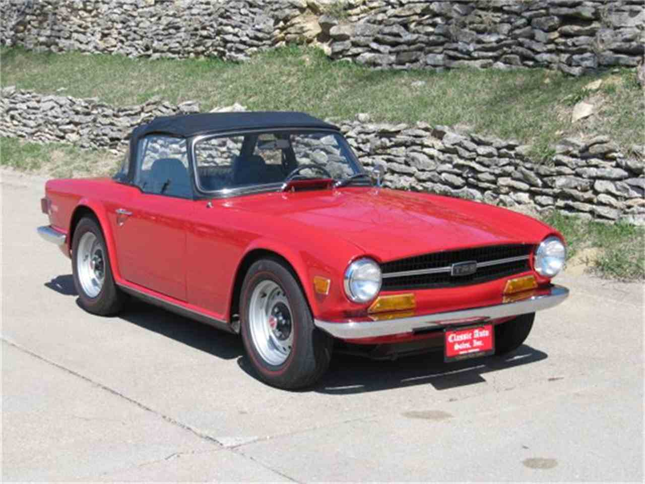 Large Picture of '70 TR6 - H5Q3