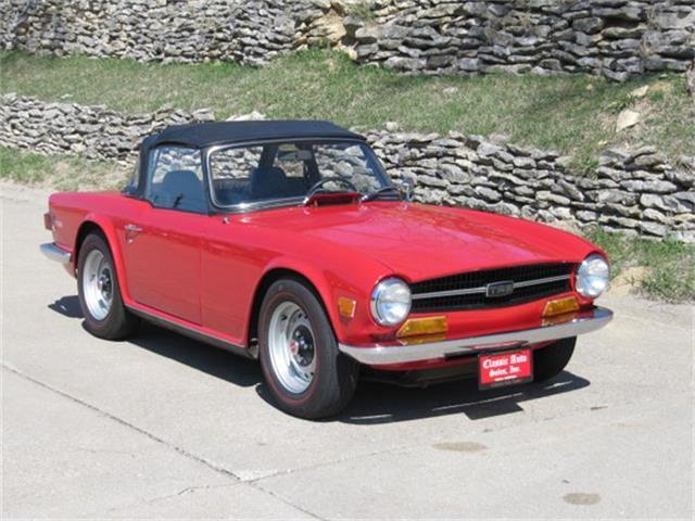 1970 Triumph TR6 | 800571