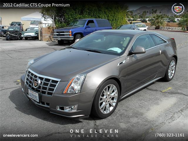 2012 Cadillac CTS Coupe Premium | 805924