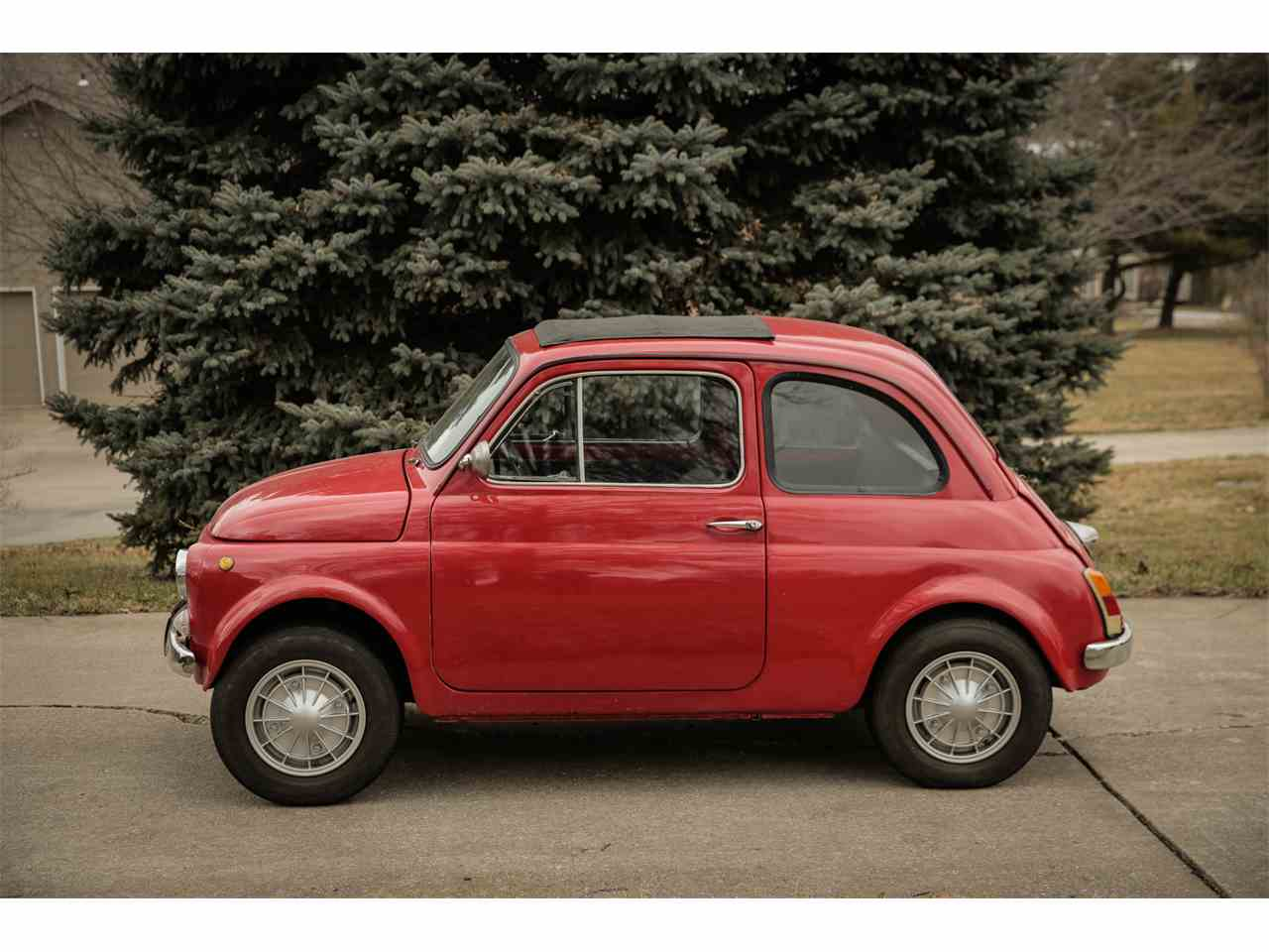 1970 fiat 500 for sale cc 800064. Black Bedroom Furniture Sets. Home Design Ideas