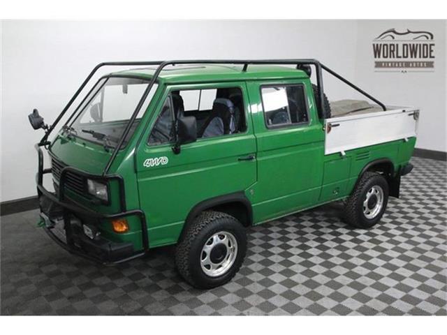 1989 Volkswagen Synchro   800697
