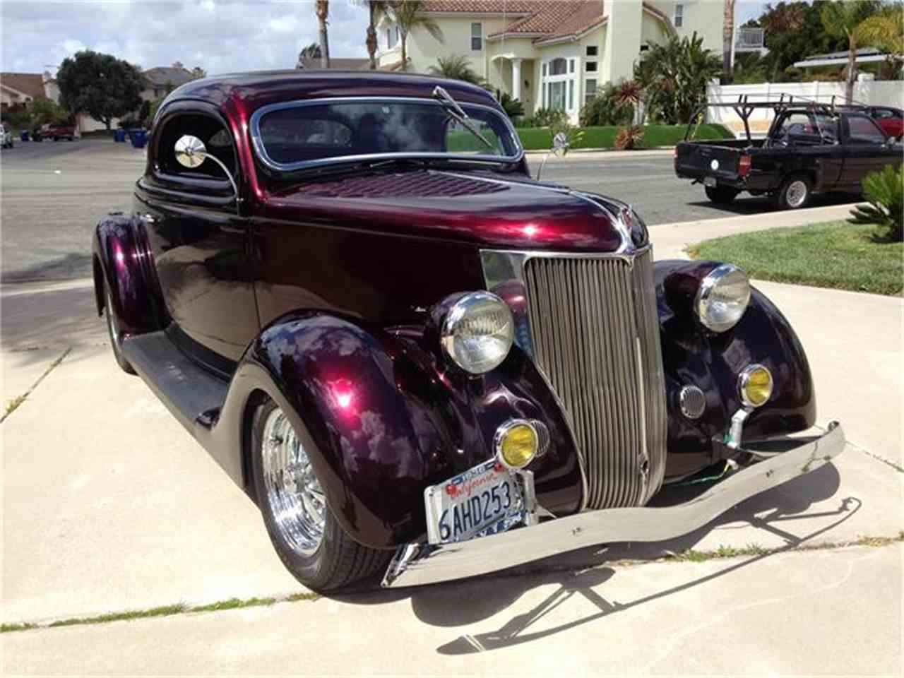 1936 ford 3 window coupe 807602