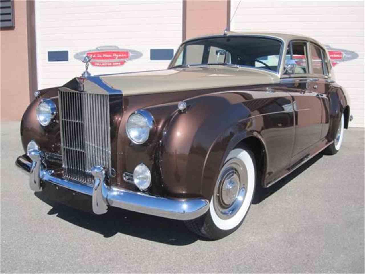 1959 rolls royce silver cloud for sale cc 807604. Black Bedroom Furniture Sets. Home Design Ideas