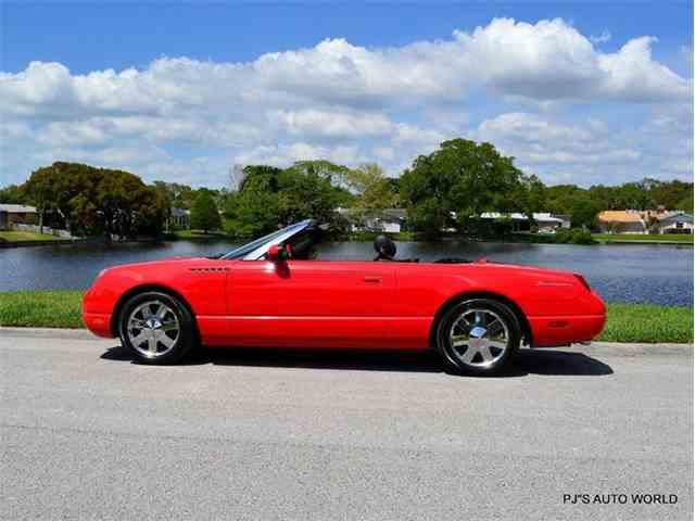 2002 Ford Thunderbird | 807612