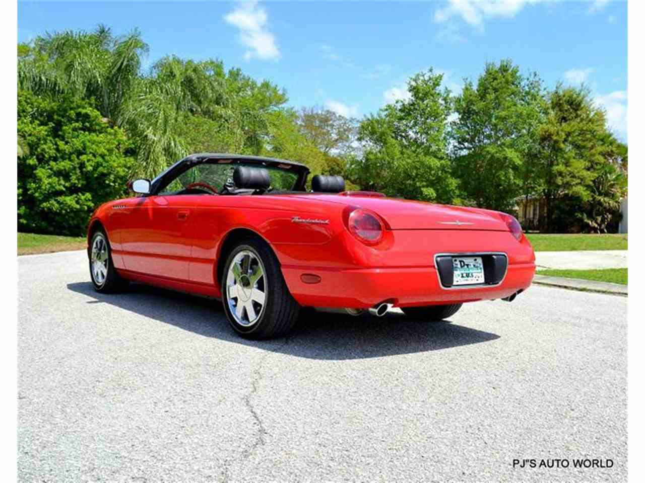 2002 ford thunderbird for sale cc 807612. Black Bedroom Furniture Sets. Home Design Ideas