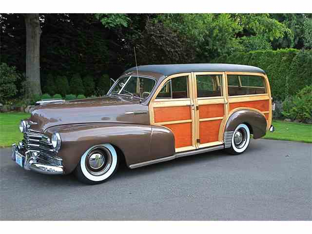 1947 Chevrolet FLEETMASTER WOODY WAGON | 808597