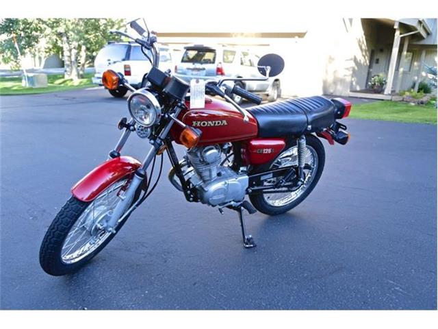 1980 Honda Red CB125S | 808606