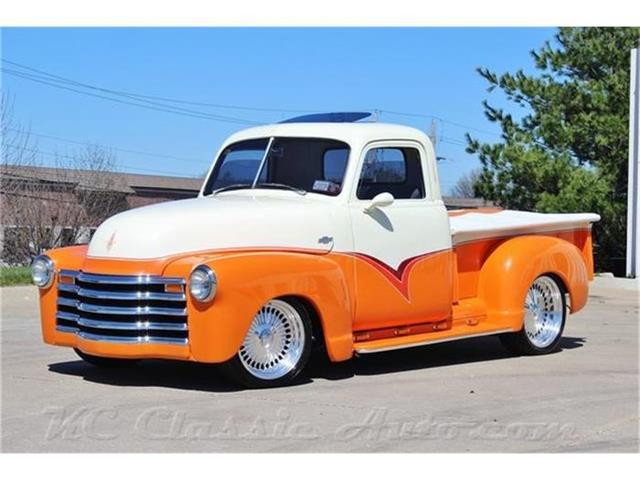 1952 Chevrolet 3100 Pickup Custom Restomod 350V8 Auto w/AC | 809272