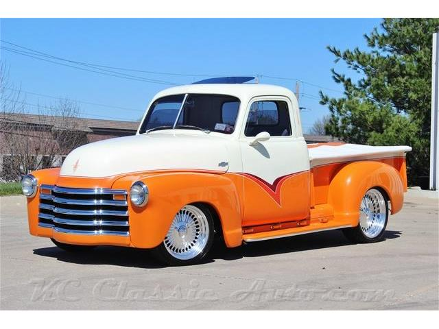 1952 Chevrolet 3100 Pickup Custom Restomod 350V8 Auto w/AC | 809272