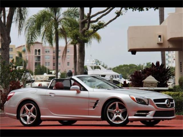 2013 Mercedes-Benz SL-ClassSL550   809803