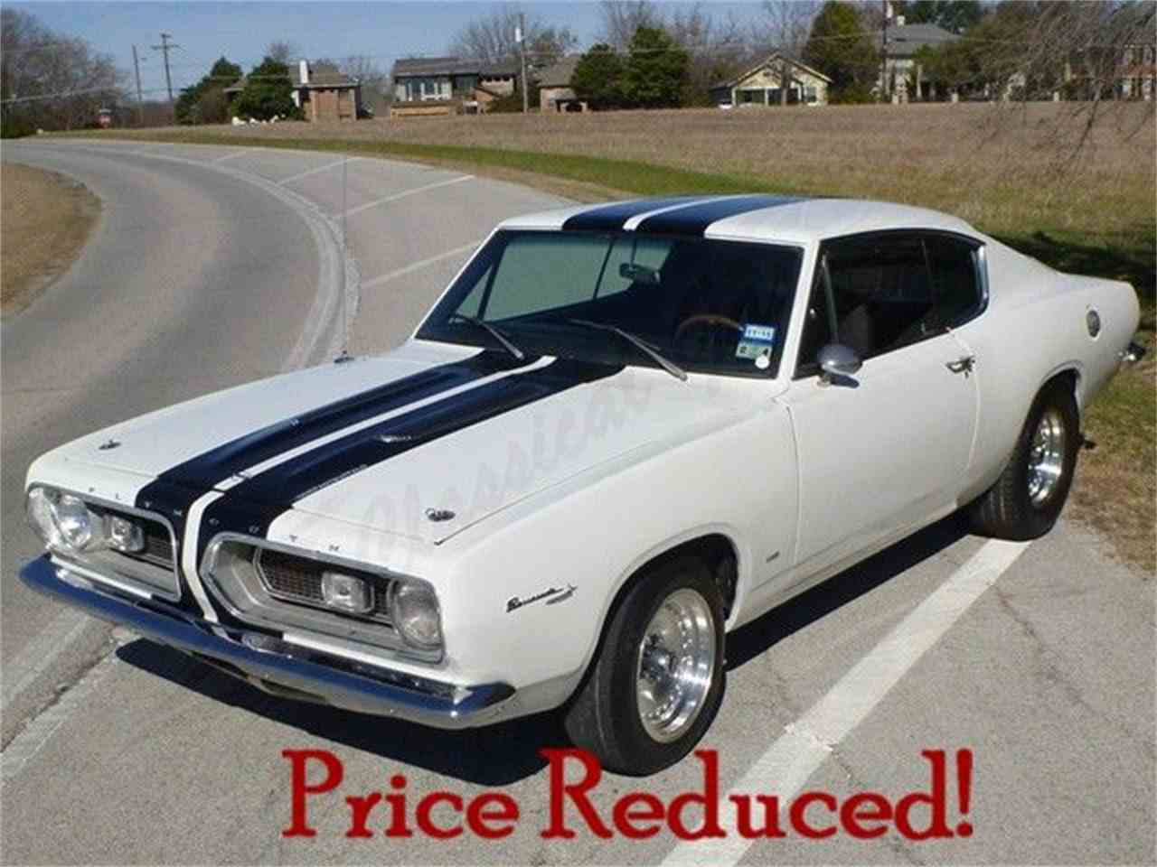 1967 plymouth barracuda for sale cc 809860. Black Bedroom Furniture Sets. Home Design Ideas