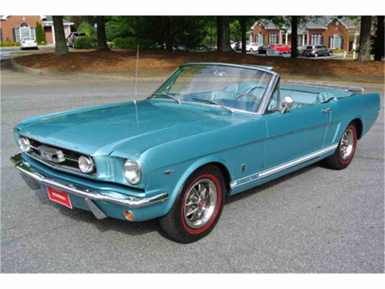 1966 ford mustang gt for sale cc 811103. Black Bedroom Furniture Sets. Home Design Ideas