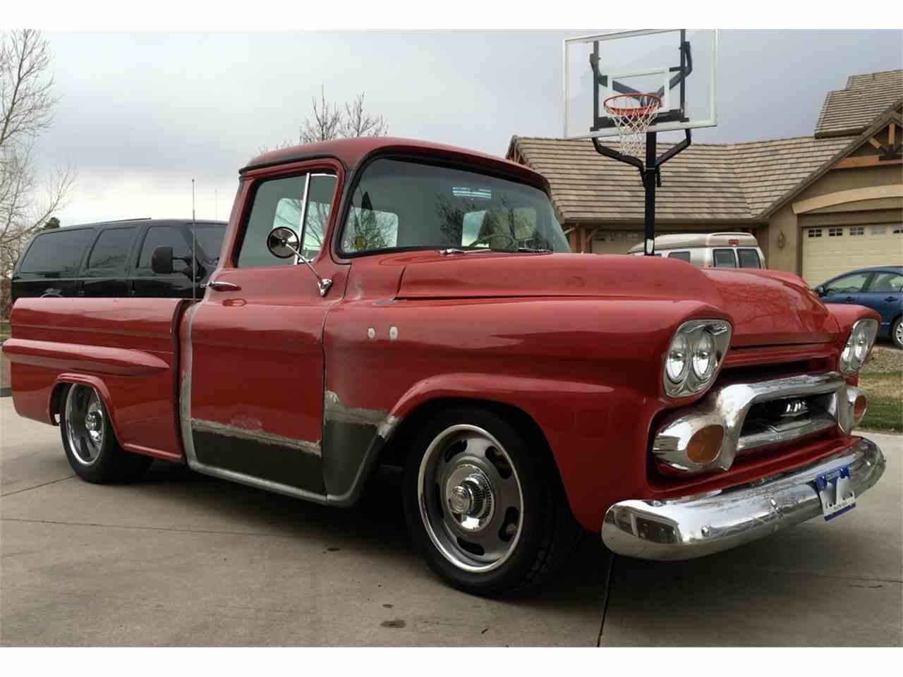 1959 gmc pickup for sale cc 811131. Black Bedroom Furniture Sets. Home Design Ideas