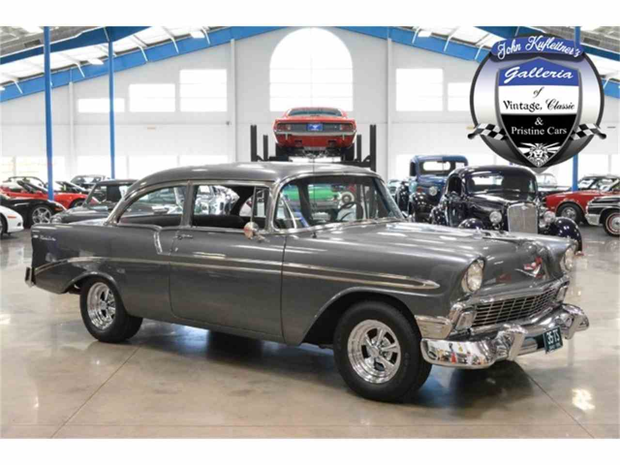 1956 chevrolet bel air for sale classic car liquidators - 1956 Chevrolet Bel Air Post Resto Mod For Sale Cc 811321