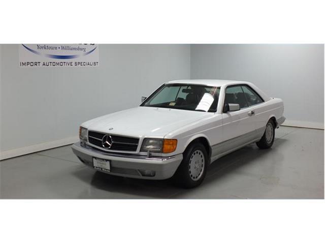 1991 Mercedes-Benz 560SEC | 812699