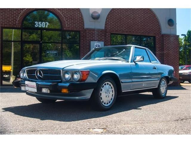 1989 Mercedes-Benz 560SL | 810364