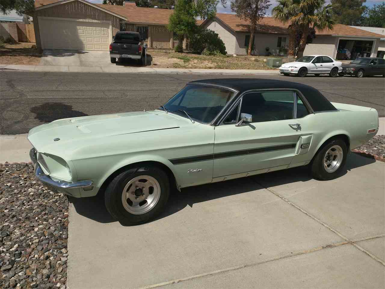 1968 ford mustang gt cs california special for sale cc 810389. Black Bedroom Furniture Sets. Home Design Ideas