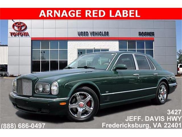 2001 Bentley Arnage | 814022