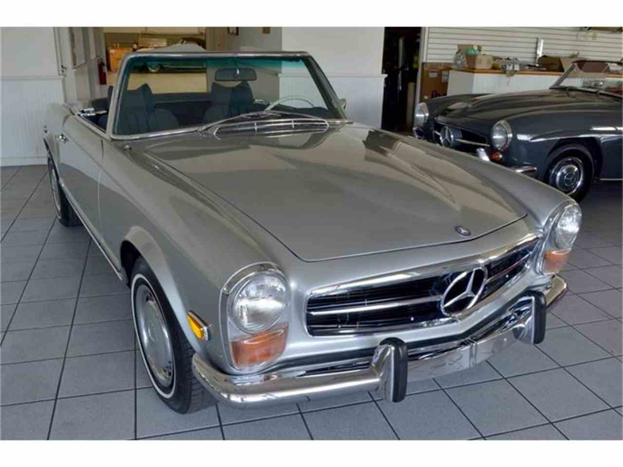 1971 mercedes benz 280sl for sale cc for Mercedes benz southampton ny