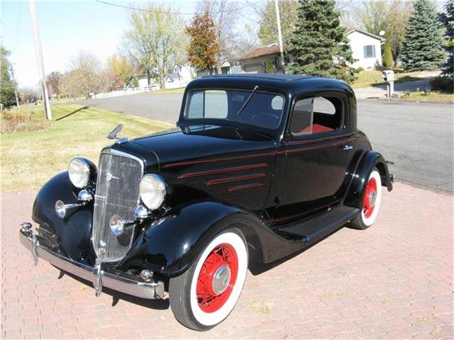 1935 Chevrolet 3-Window Coupe | 814558