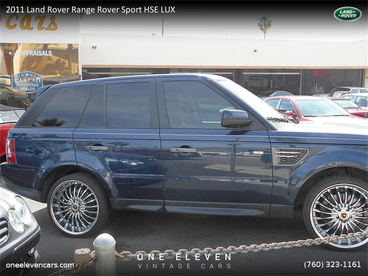 2011 land rover range rover sport hse lux for sale cc 814734. Black Bedroom Furniture Sets. Home Design Ideas