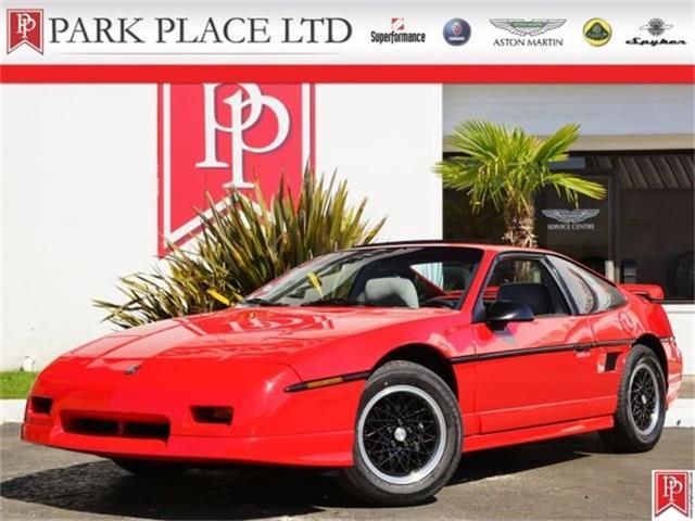 1988 Pontiac Fiero GT V6   818590