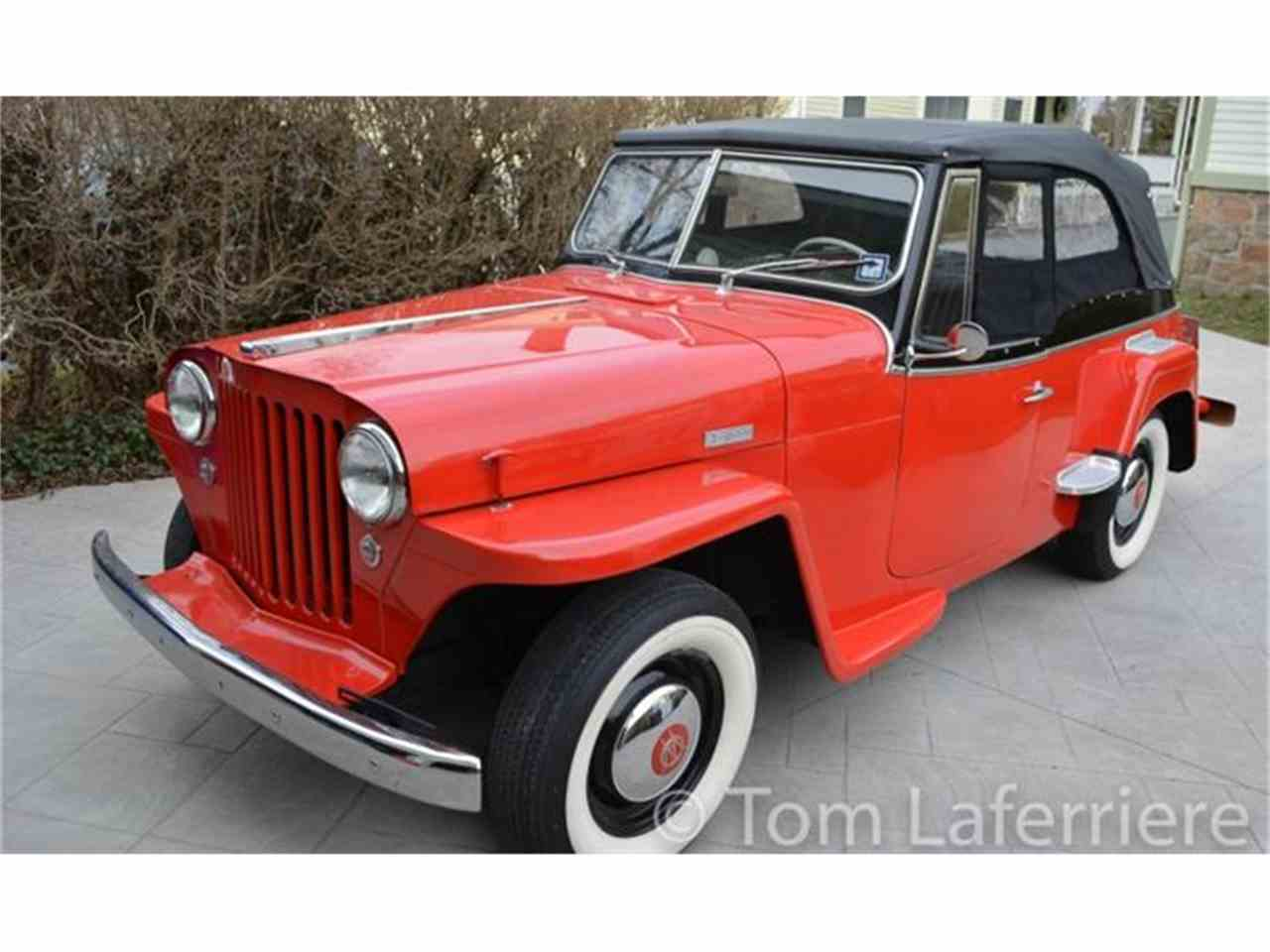 1948 willys jeepster for sale cc 822065. Black Bedroom Furniture Sets. Home Design Ideas