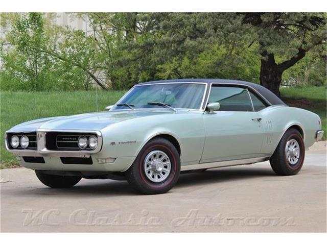 1968 Pontiac Firebird Automatic AC | 822150