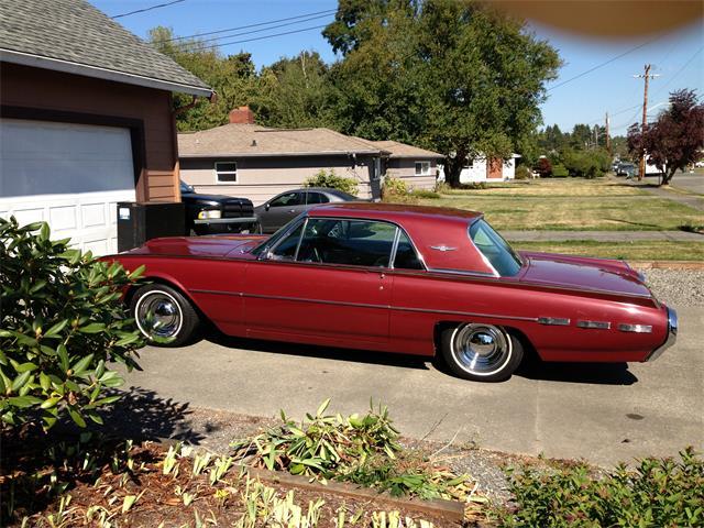 1962 Ford Thunderbird   823273