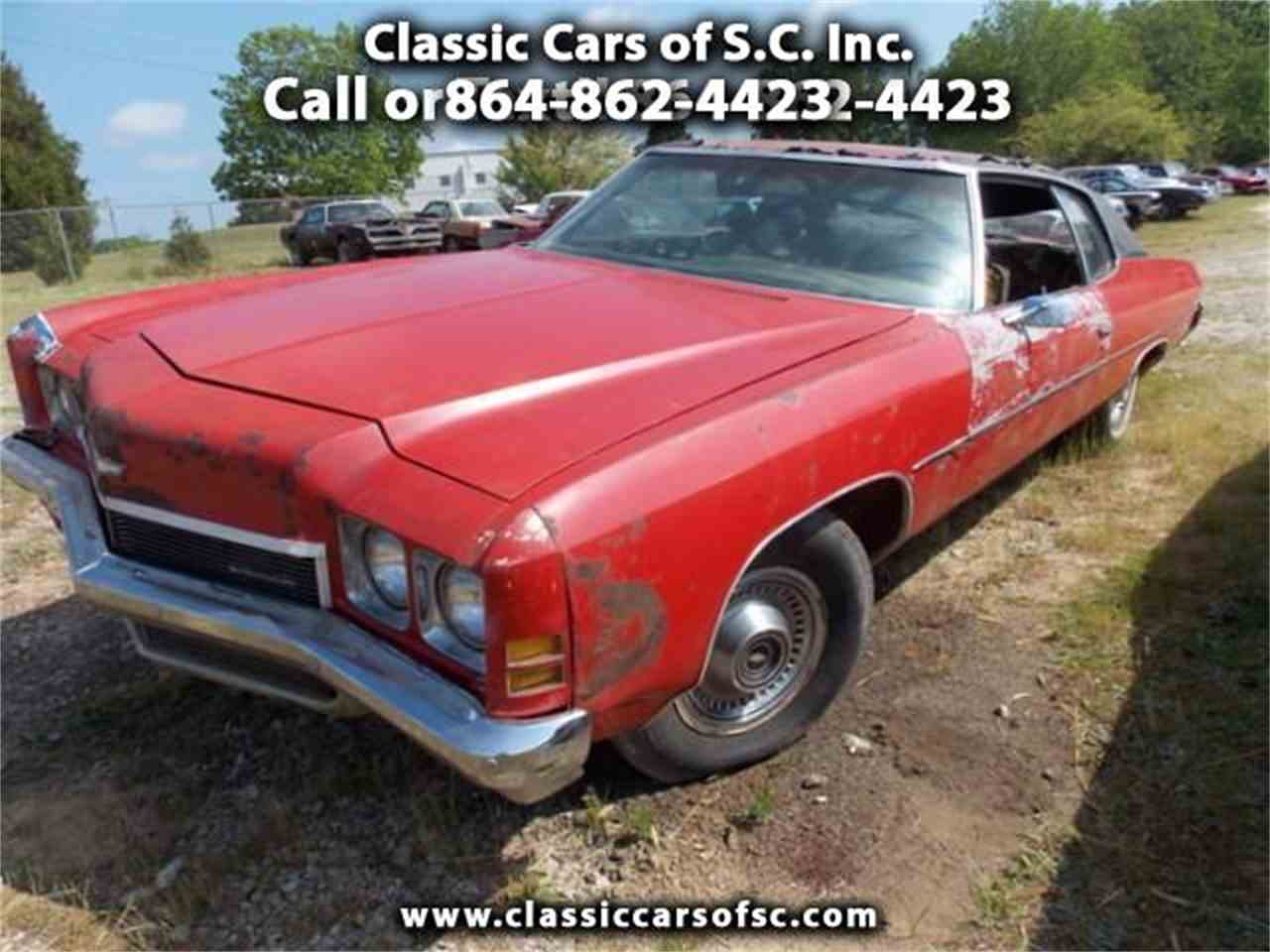 Impala 1972 chevrolet impala for sale : 1972 Chevrolet Impala for Sale | ClassicCars.com | CC-823410