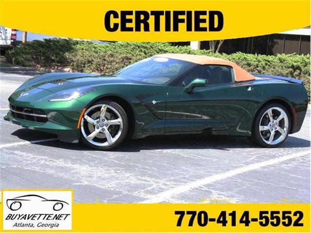 2014 Chevrolet Corvette   826878