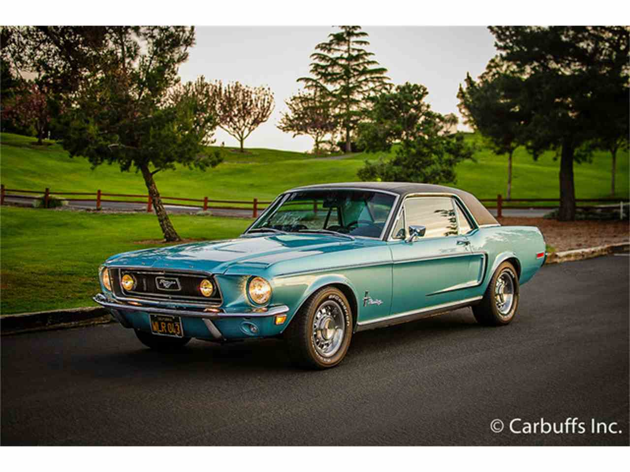 1968 ford mustang for sale cc 826899. Black Bedroom Furniture Sets. Home Design Ideas