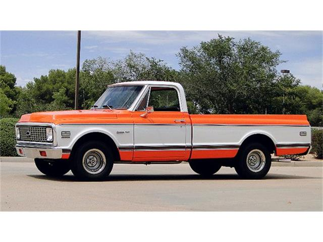1972 CHEVROLET C/10 CHEYENNE TRIM FACTORY BIG BLOCK | 826905