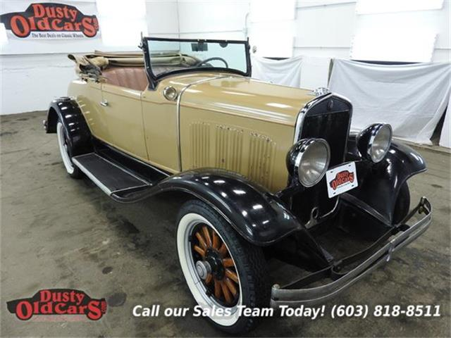 1930 Chrysler Roadster six | 828113